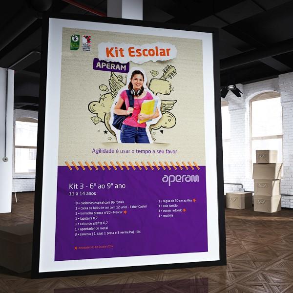Kit Escolar Aperam 2012
