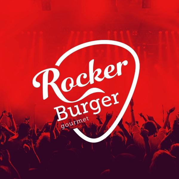 Branding Rocker Burguer